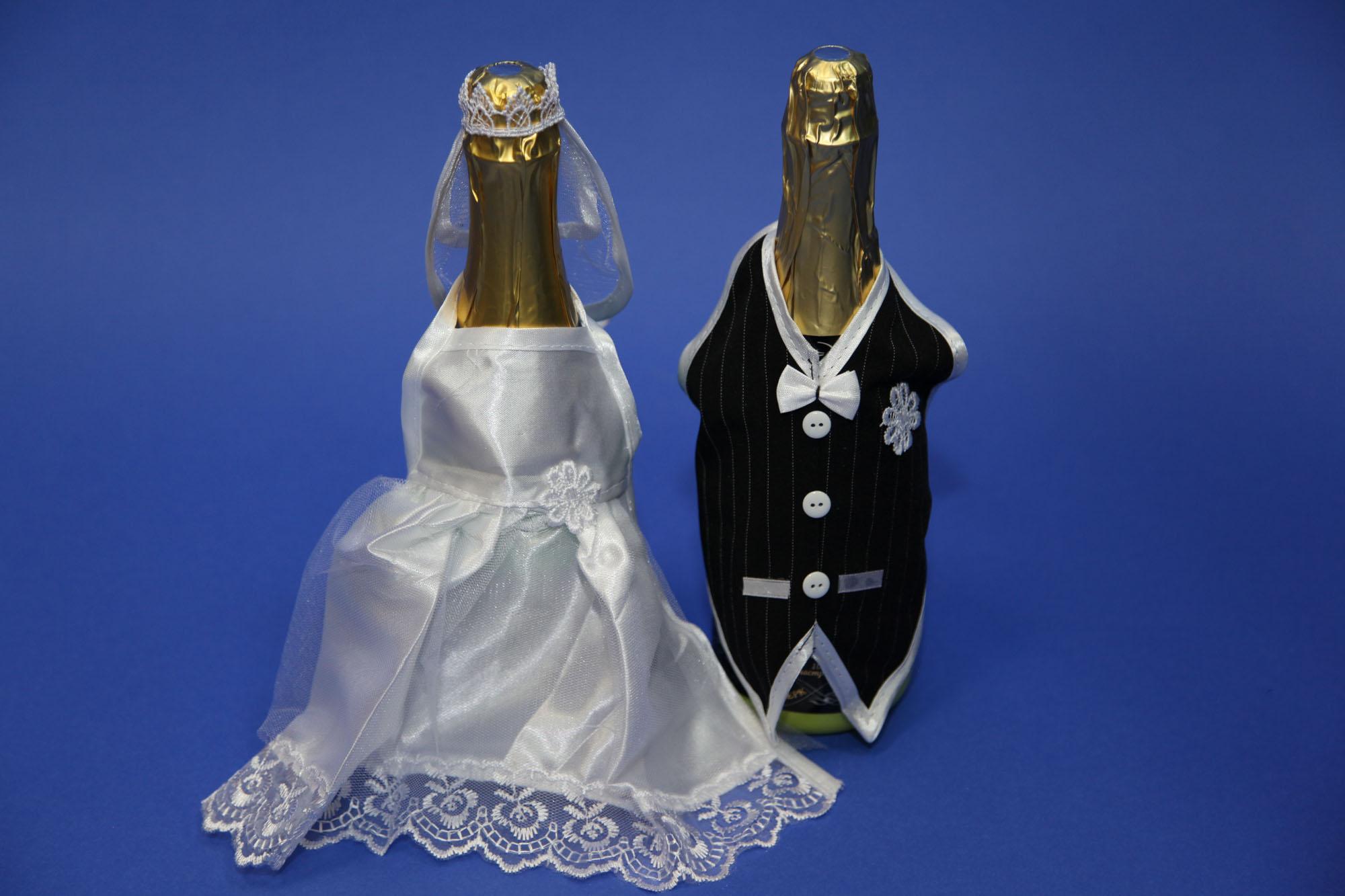 Костюм на бутылки шампанского своими руками 85